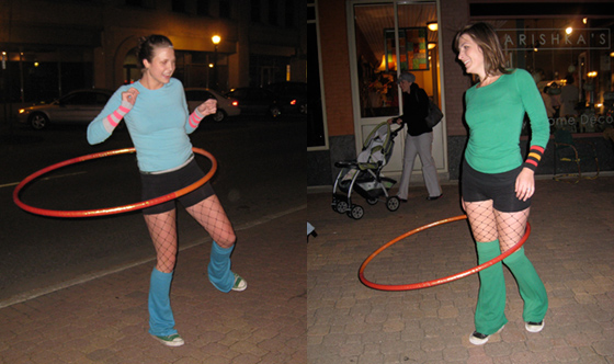 Hooping tricks