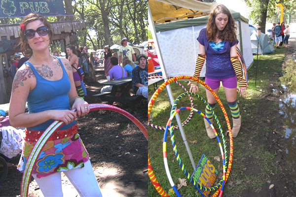 Hoop Dance Outfits