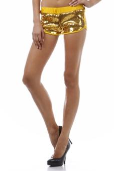 Hula Hooping Sequin Shorts
