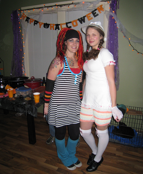 Hoop Dancer and Little Bo Peep