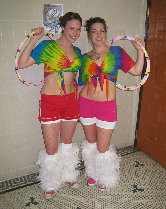 Hula Hoopers in Costume