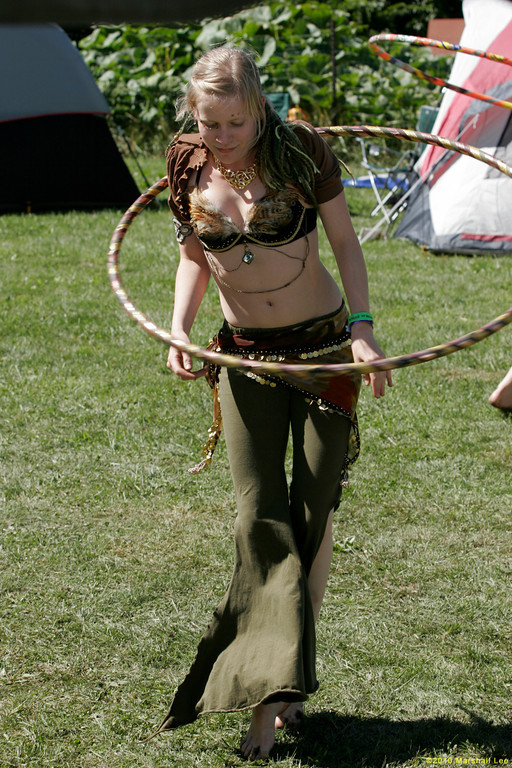 Hula Hooper costume