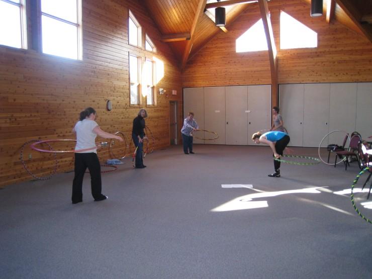 hoop dance class tricks