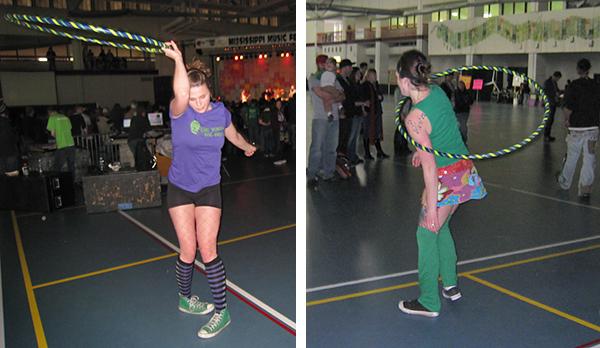 Hoop Dancing at Mississippi Music Fest