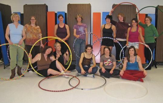 Brecken Hoop Dance Class