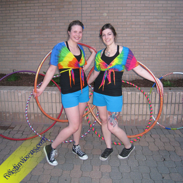 Hula Hoopers at the St. Cloud Art Crawl