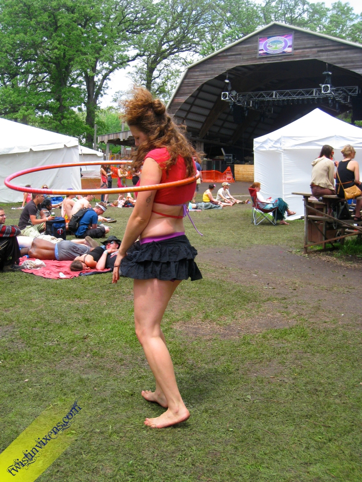 Hoop Dancing at Harmony Park