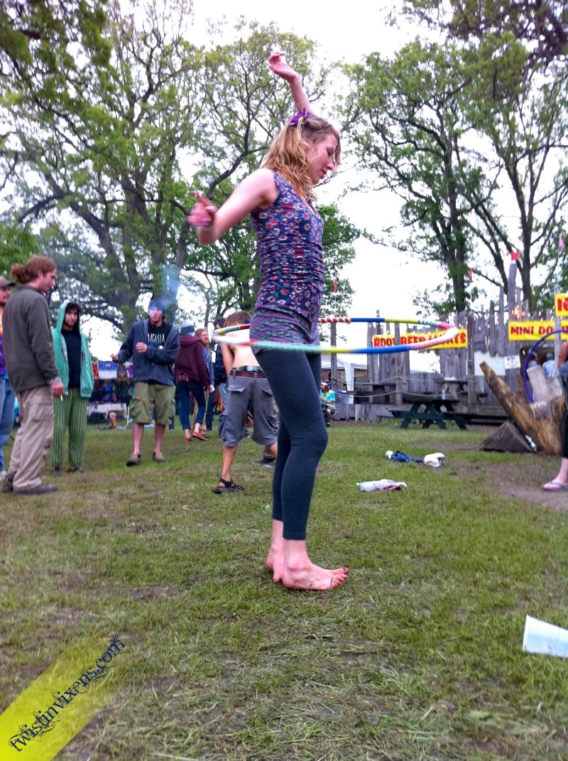 Hula Hooper at Harmony Park