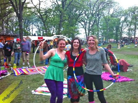Twistin Vixens at Bella Tempo Music Festival