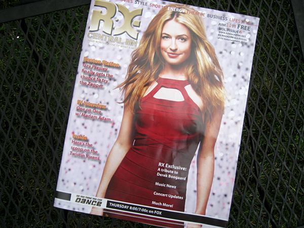 RX Magazine Cover June 2011