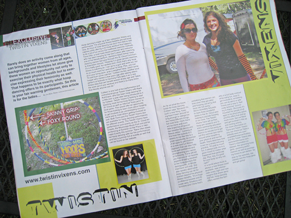 RX Magazine Article of the Twistin Vixe