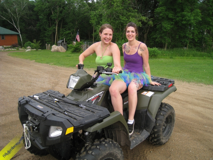 Tutus on a Four Wheeler