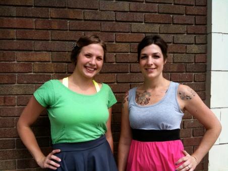 Colleen and Kayla