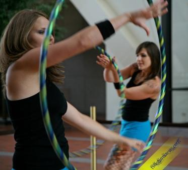 Hula Hooping Performance