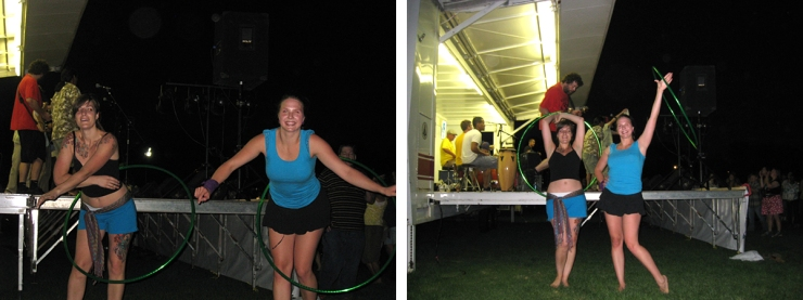 Hoop Dancing at Stearns County Pachanga Society Show