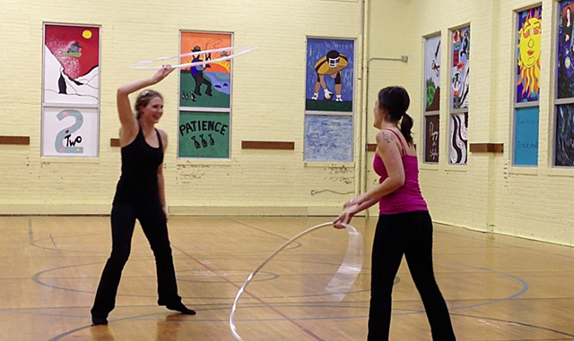 Hooping Classes for Sartell Community Ed