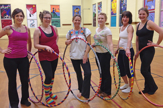 Sartell Community Ed Hooping Class