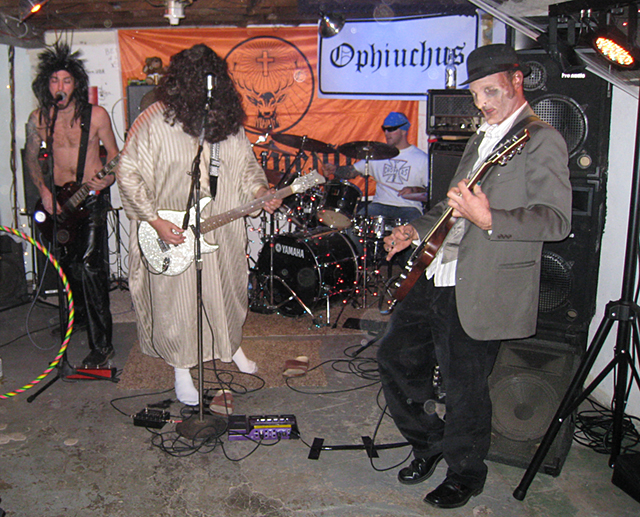 Ophiuchus Performing on Halloween