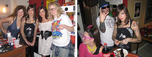 Hooper, Kat Von D, Pirate Wench and Garth