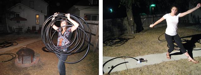 Making hoops