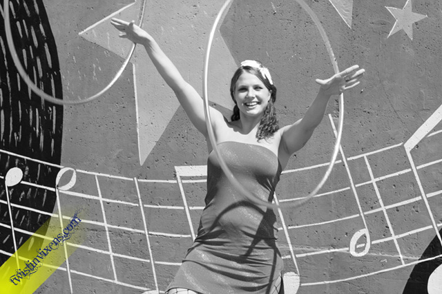 Kayla Kuhlmann Hoop Dancing