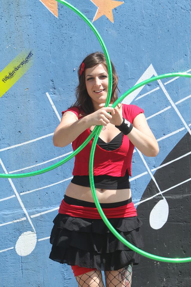Colleen Hurley Hoop Dancing