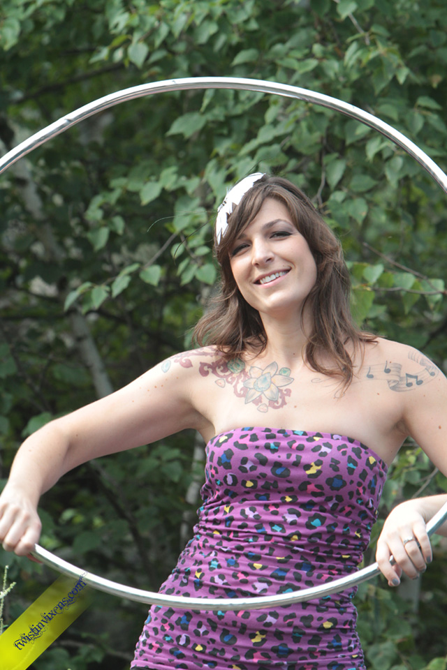 Colleen Hurley Hula Hooping