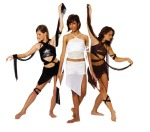 Strappy Mesh Hoop Dance Clothing