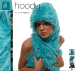 Winter Hooping Costume Fur Hoody