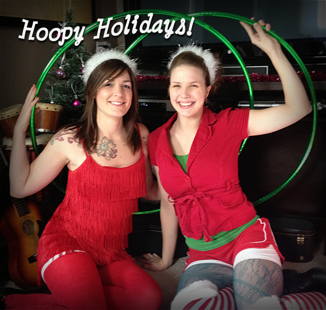 Hoopy Holidays from the Twistin Vixens