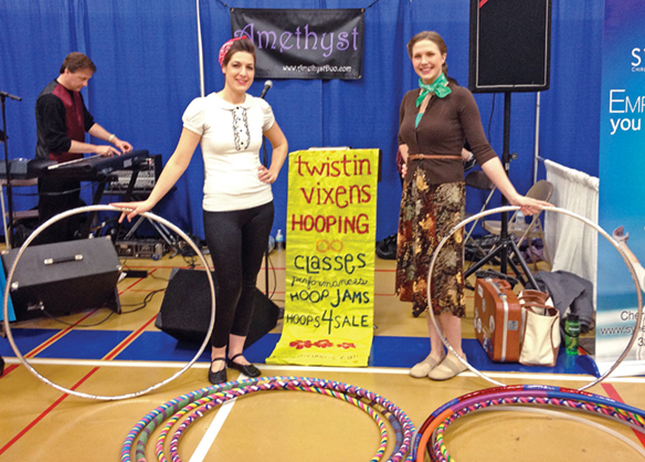 Hoop Dancers at the Community Showcase in Sartell MN