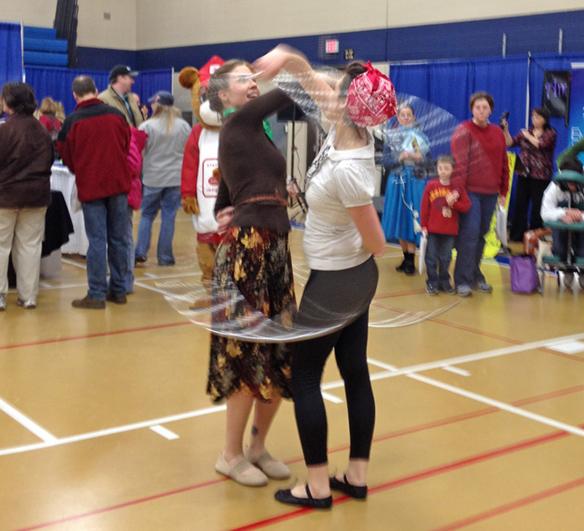 Sartell Community Showcase Hoop Dance Performers