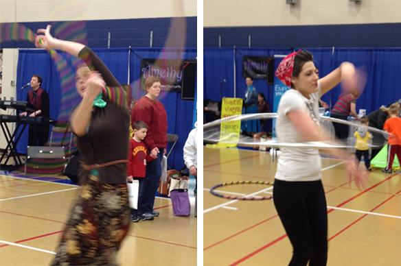 Hoop Dance Performance in Sartell MN