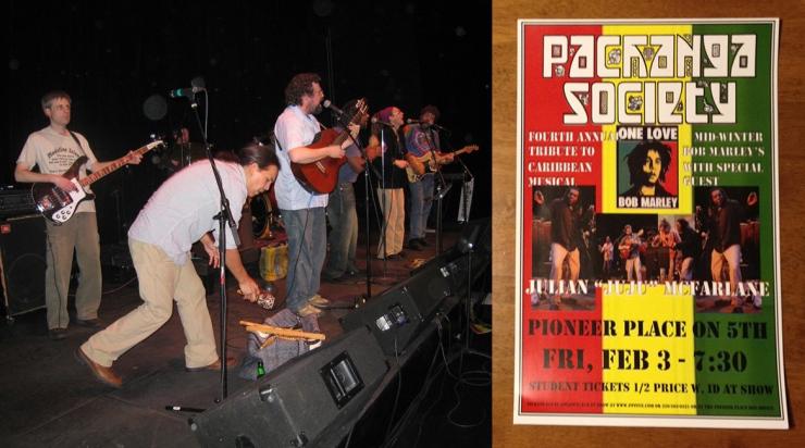 Stearns County Pachanga Society Bob Marley Tribute Show