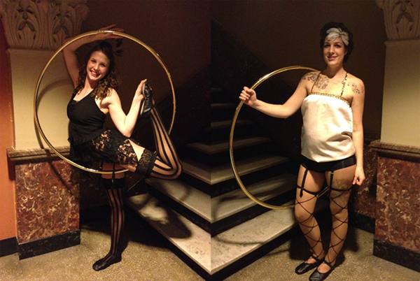Classic circus hooper costumes