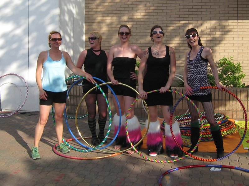 Hoop Dancers at St. Cloud's Downtown Walk About