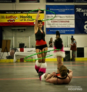 Twistin Vixens Hoop Dance Performers