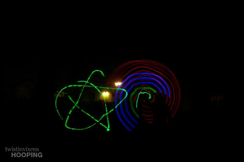 LED Hoops Star