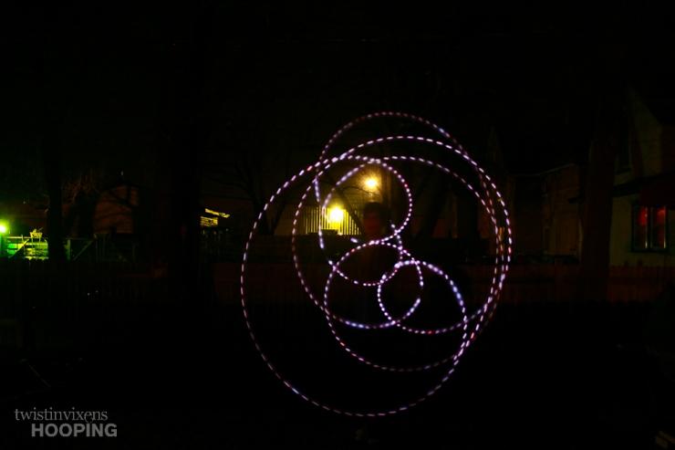 LED Hoop Swirl