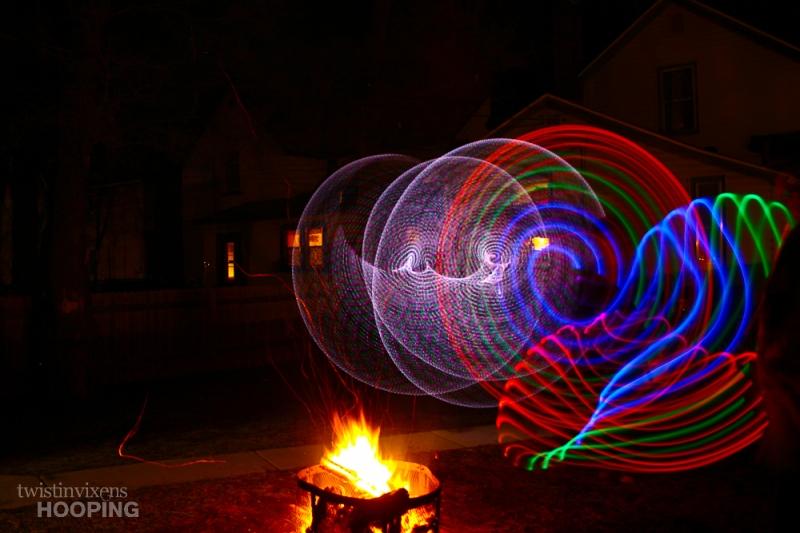 LED Hoop Trails
