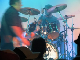 Ophiuchus Drummer and Guitar