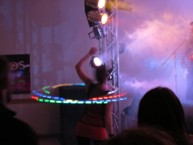 Twistin Vixens Hooping Performance with Ophiuchus