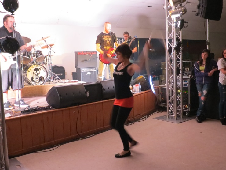 Hoop Dancing with Ophiuchus at Battle of the Bands
