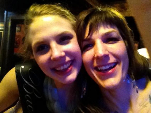 Kayla and Colleen