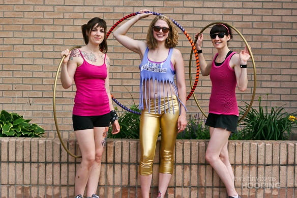 Hula Hoopers at the St. Cloud Downtown Walk About