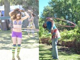 hoop dancers