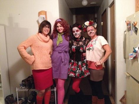 Twistin Vixens Halloween 2013