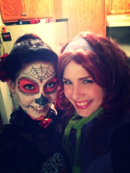 Halloween 2013 Kayla and Amy