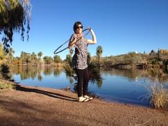 Colleen Hurley Hoop Dancing Papago Park, Phoenix, AZ