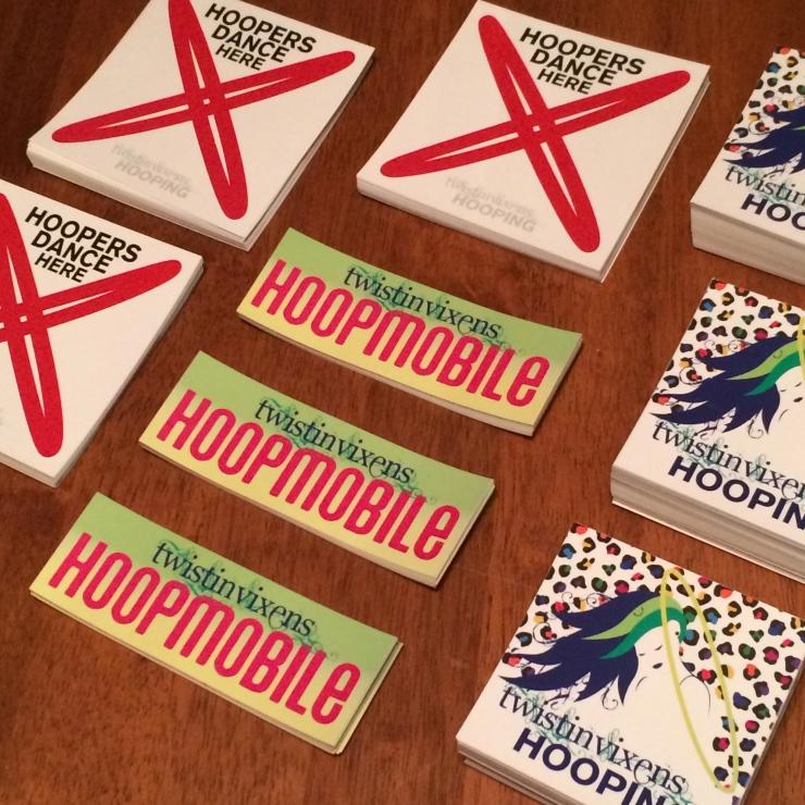 Twistin Vixens Stickers